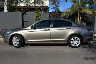2010 Honda Accord 8th Gen MY10 VTi-L Gold 5 Speed Sports Automatic Sedan.
