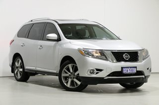 2014 Nissan Pathfinder R52 TI (4x2) Silver Continuous Variable Wagon.
