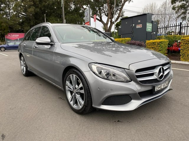 Used Mercedes-Benz C-Class S205 C200 Estate 7G-Tronic +, 2014 Mercedes-Benz C-Class S205 C200 Estate 7G-Tronic + Silver 7 Speed Sports Automatic Wagon