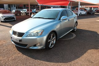 2008 Lexus IS250 GSE20R IS250 X Light Blue 6 Speed Automatic Sedan.