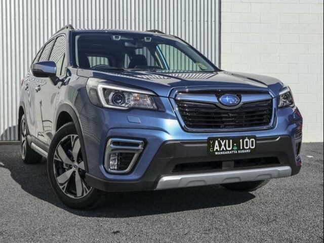 Demo Subaru Forester MY20 2.0E-S Hybrid (AWD) Wangaratta, 2020 Subaru Forester MY20 2.0E-S Hybrid (AWD) Horizon Blue Continuous Variable Wagon