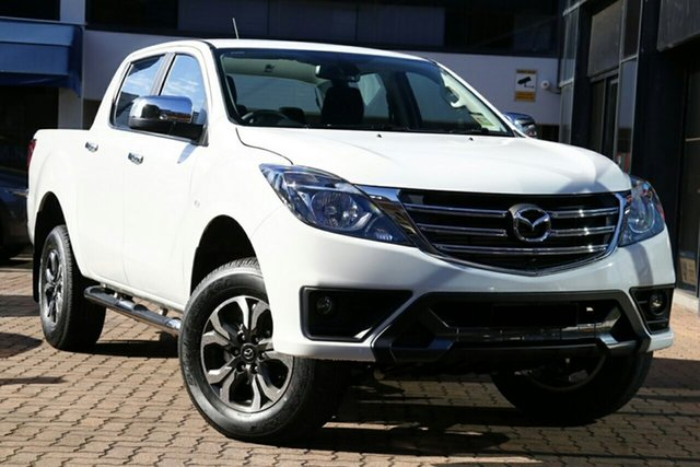 New Mazda BT-50 TFR40J XTR 4x2 Newstead, 2020 Mazda BT-50 TFR40J XTR 4x2 Ice White 6 Speed Sports Automatic Utility