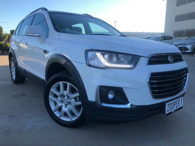 Used Holden Captiva CG MY18 Active 2WD, 2017 Holden Captiva CG MY18 Active 2WD White 6 Speed Sports Automatic Wagon