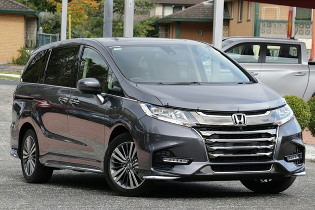 New Honda Odyssey RC MY20 VTi-L, 2020 Honda Odyssey RC MY20 VTi-L Modern Steel 7 Speed Constant Variable Wagon