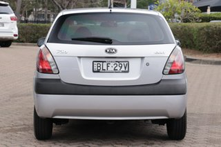 2009 Kia Rio JB MY07 EX Silver 4 Speed Automatic Hatchback