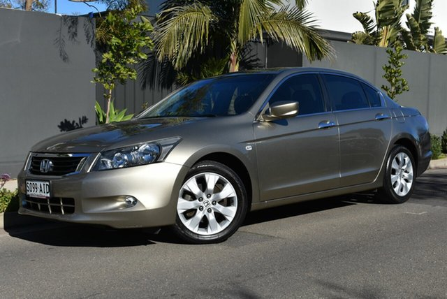Used Honda Accord 8th Gen MY10 VTi-L, 2010 Honda Accord 8th Gen MY10 VTi-L Gold 5 Speed Sports Automatic Sedan