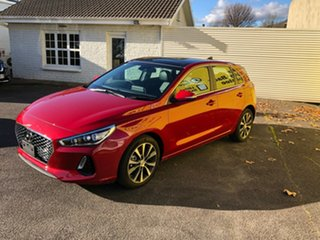 2019 Hyundai i30 PD2 MY20 Premium Firey Red 6 Speed Sports Automatic Hatchback