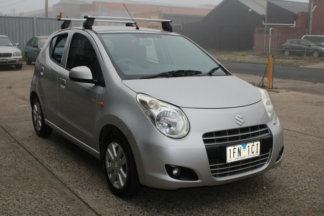 Used Suzuki Alto GF GL West Footscray, 2011 Suzuki Alto GF GL Silver 5 Speed Manual Hatchback