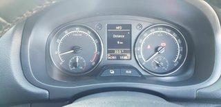 2012 Skoda Fabia 5JF MY13 RS 132 TSI Yellow 7 Speed Auto Direct Shift Hatchback