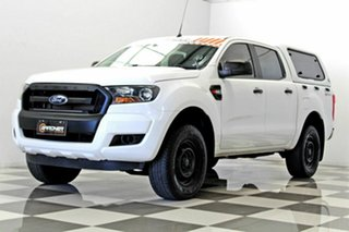 2015 Ford Ranger PX MkII XL 2.2 Hi-Rider (4x2) White 6 Speed Automatic Crew Cab Pickup