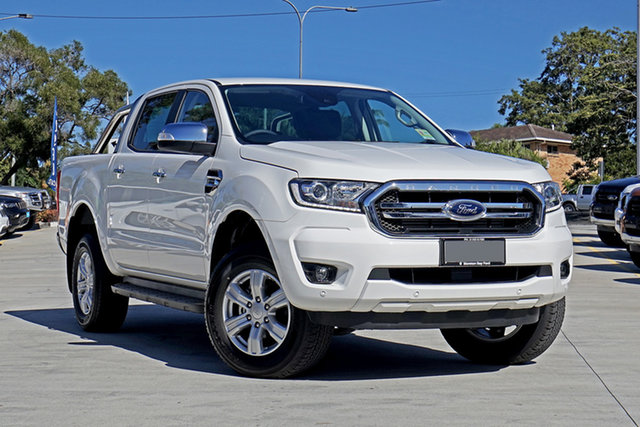 Used Ford Ranger PX MkIII 2020.25MY XLT, 2020 Ford Ranger PX MkIII 2020.25MY XLT Arctic White 10 Speed Sports Automatic Double Cab Pick Up