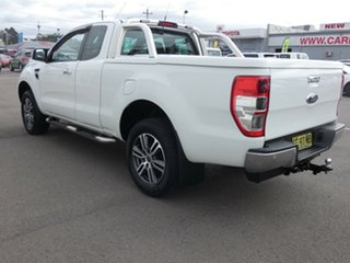 2015 Ford Ranger PX XLT Double Cab 4x2 Hi-Rider White 6 Speed Sports Automatic Utility