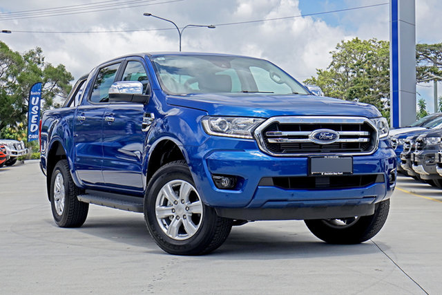 Used Ford Ranger PX MkIII 2020.25MY XLT Pick-up Double Cab, 2020 Ford Ranger PX MkIII 2020.25MY XLT Pick-up Double Cab Blue Lightning 6 Speed Sports Automatic