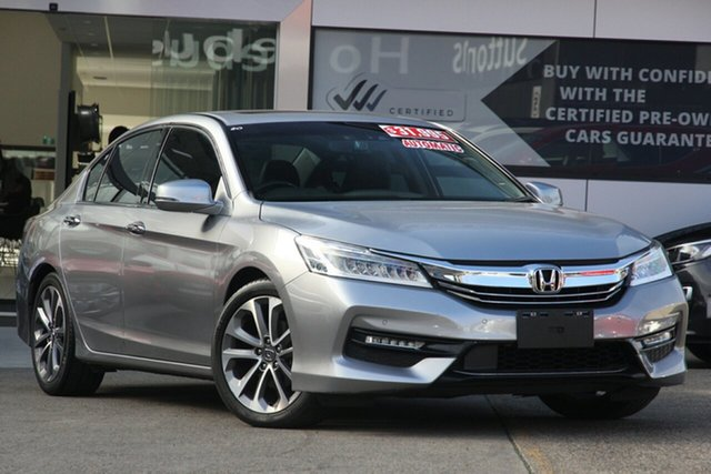 Used Honda Accord MY17 VTi-L, 2017 Honda Accord MY17 VTi-L 2.4L Silver 5 Speed Automatic Sedan