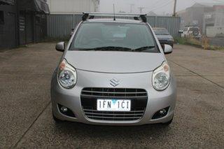 2011 Suzuki Alto GF GL Silver 5 Speed Manual Hatchback.