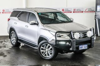 2017 Toyota Fortuner GUN156R Crusade Silver Sky 6 Speed Automatic Wagon.
