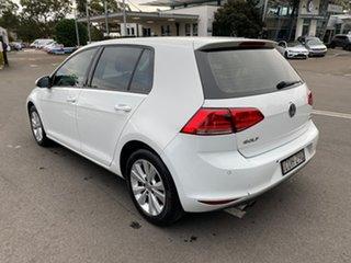 2012 Volkswagen Golf VI MY13 90TSI DSG Trendline White 7 Speed Sports Automatic Dual Clutch