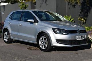 2014 Volkswagen Polo 6R MY14 77TSI DSG Comfortline Silver 7 Speed Sports Automatic Dual Clutch