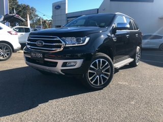 2020 Ford Everest UA II 2020.25MY Titanium Shadow Black 10 Speed Sports Automatic SUV.
