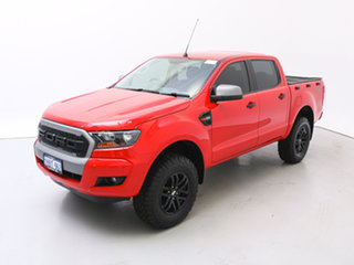 2017 Ford Ranger PX MkII MY17 XLS 3.2 (4x4) Red 6 Speed Automatic Dual Cab Utility