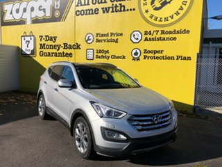 2012 Hyundai Santa Fe DM MY13 Highlander Sleek Silver 6 Speed Sports Automatic Wagon.