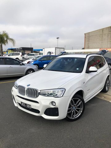 Used BMW X3 F25 MY15 xDrive30d, 2015 BMW X3 F25 MY15 xDrive30d Alpine White 8 Speed Automatic Wagon