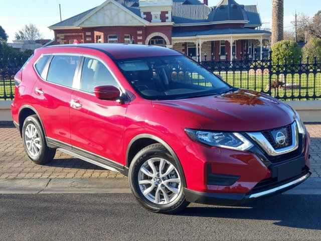 Demo Nissan X-Trail T32 Series III MY20 ST X-tronic 2WD, 2020 Nissan X-Trail T32 Series III MY20 ST X-tronic 2WD Ruby Red 7 Speed Constant Variable Wagon