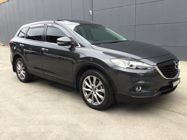Used Mazda CX-9 TB10A5 Grand Touring Activematic AWD, 2014 Mazda CX-9 TB10A5 Grand Touring Activematic AWD Grey 6 Speed Sports Automatic Wagon