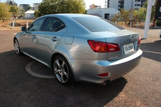 2008 Lexus IS250 GSE20R IS250 X Light Blue 6 Speed Automatic Sedan