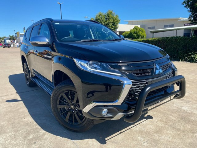 Used Mitsubishi Pajero Sport QE MY19 Black Edition, 2019 Mitsubishi Pajero Sport QE MY19 Black Edition Black 8 Speed Sports Automatic Wagon