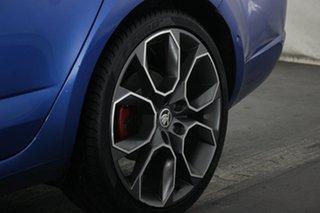 2018 Skoda Octavia NE MY18.5 RS Sedan DSG 169TSI Race Blue 6 Speed Sports Automatic Dual Clutch