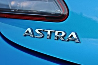 2015 Holden Astra PJ MY16 VXR Blue 6 Speed Manual Hatchback