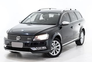 2012 Volkswagen Passat Type 3C MY13 Alltrack DSG 4MOTION Black 6 Speed Sports Automatic Dual Clutch.