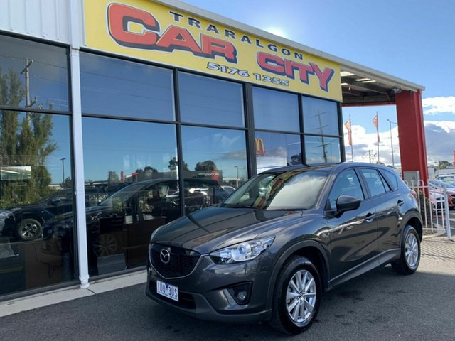 Used Mazda CX-5 MY13 Upgrade Maxx Sport (4x4), 2014 Mazda CX-5 MY13 Upgrade Maxx Sport (4x4) Grey 6 Speed Automatic Wagon
