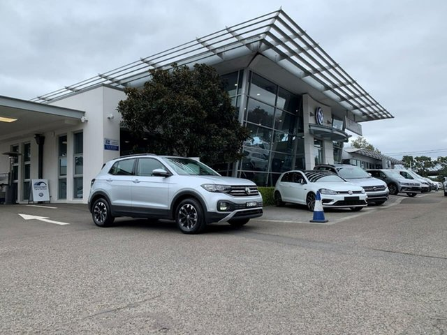 Demo Volkswagen T-Cross C1 MY20 85TSI DSG FWD Life, 2020 Volkswagen T-Cross C1 MY20 85TSI DSG FWD Life Silver 7 Speed Sports Automatic Dual Clutch Wagon