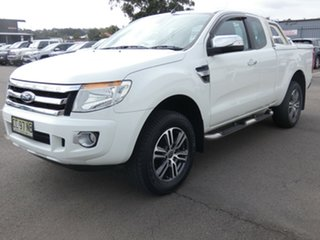 2015 Ford Ranger PX XLT Double Cab 4x2 Hi-Rider White 6 Speed Sports Automatic Utility.