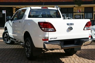 2020 Mazda BT-50 TFR40J XTR 4x2 Ice White 6 Speed Sports Automatic Utility.