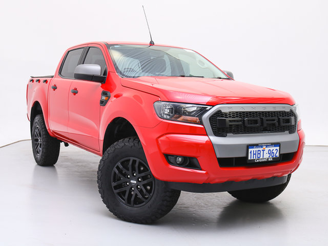 Used Ford Ranger PX MkII MY17 XLS 3.2 (4x4), 2017 Ford Ranger PX MkII MY17 XLS 3.2 (4x4) Red 6 Speed Automatic Dual Cab Utility