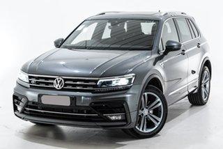 2019 Volkswagen Tiguan 5N MY19.5 132TSI DSG 4MOTION R-Line Edition Grey 7 Speed.