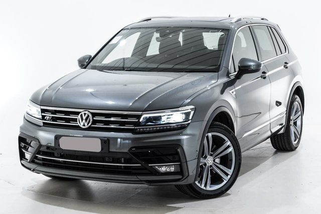 Used Volkswagen Tiguan 5N MY19.5 132TSI DSG 4MOTION R-Line Edition, 2019 Volkswagen Tiguan 5N MY19.5 132TSI DSG 4MOTION R-Line Edition Grey 7 Speed