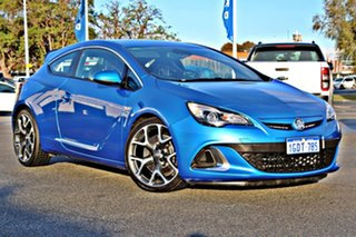 2015 Holden Astra PJ MY16 VXR Blue 6 Speed Manual Hatchback.