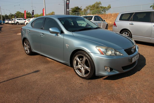 Used Lexus IS250 GSE20R IS250 X, 2008 Lexus IS250 GSE20R IS250 X Light Blue 6 Speed Automatic Sedan