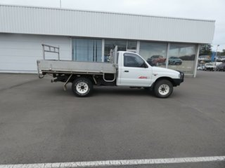 1999 Mazda Bravo B2500 DX White 5 Speed Manual Cab Chassis