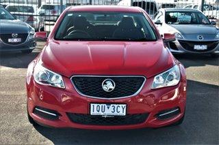 2015 Holden Commodore VF MY15 Evoke Red 6 Speed Sports Automatic Sedan.