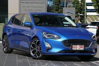 2018 Ford Focus LZ Titanium Blue 6 Speed Automatic Hatchback.