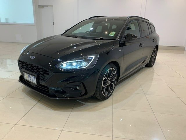 Used Ford Focus SA 2019.25MY ST-Line, 2019 Ford Focus SA 2019.25MY ST-Line Black 8 Speed Automatic Wagon