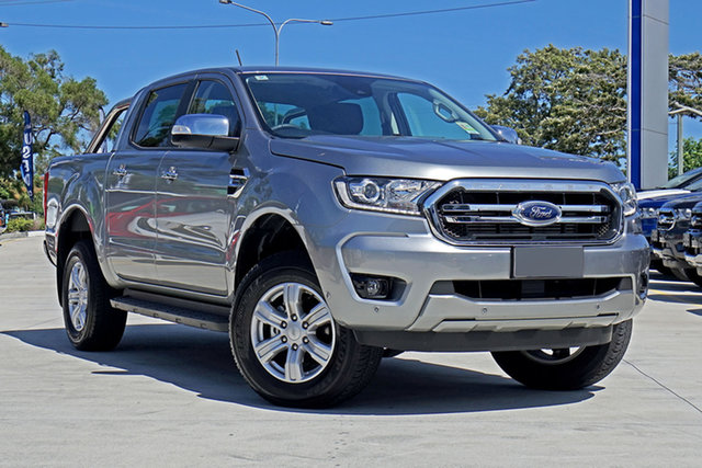 Used Ford Ranger PX MkIII 2020.25MY XLT, 2020 Ford Ranger PX MkIII 2020.25MY XLT Aluminium 10 Speed Sports Automatic Double Cab Pick Up
