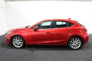 2014 Mazda 3 BM5438 SP25 SKYACTIV-Drive Red/Black 6 Speed Sports Automatic Hatchback