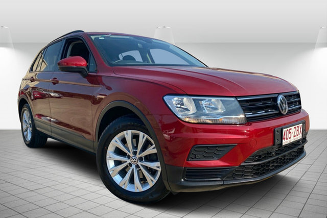 Used Volkswagen Tiguan 5N MY17 110TSI DSG 2WD Trendline, 2017 Volkswagen Tiguan 5N MY17 110TSI DSG 2WD Trendline Red 6 Speed Sports Automatic Dual Clutch