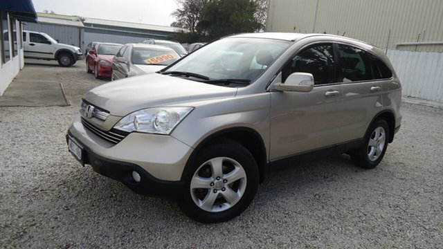 Used Honda CR-V RE MY2007 Sport 4WD, 2007 Honda CR-V RE MY2007 Sport 4WD Gold 5 Speed Automatic Wagon